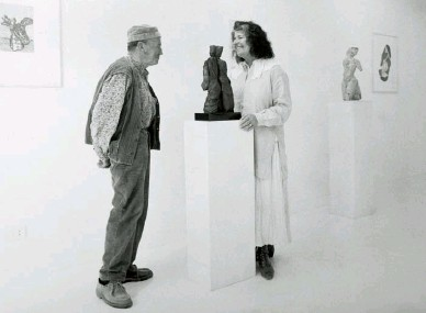 ??  ?? Helaine Blumenfeld with Sem Ghelardini in Italy in 1994, 20 years after they first met