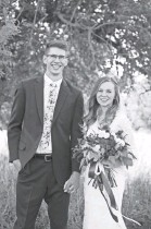 ?? PROVIDED BY RACHEL STEPHENS ?? Ryan and Rachel May at their 2018 wedding. Ryan, then 21, started experiencing ALS symptoms on his honeymoon. He's now using a feeding tube.