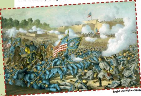 ??  ?? Slaget ved Williamsburg.