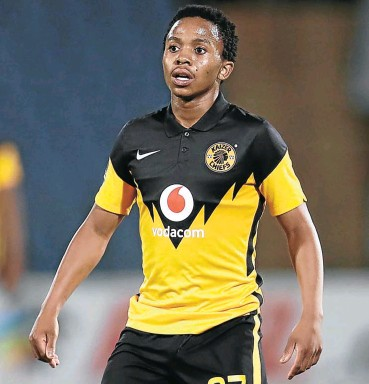 ?? Picture: BackpagePix/Gallo Images ?? Kaizer Chiefs attacking midfielder Nkosingiphile Ngcobo could be vital in the Soweto club's revival.