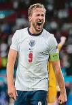 ??  ?? Harry Kane dotáhl Anglii až do finále.