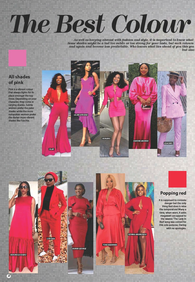 Pressreader Thisday Style 2019 01 06 The Best Colour Trends For