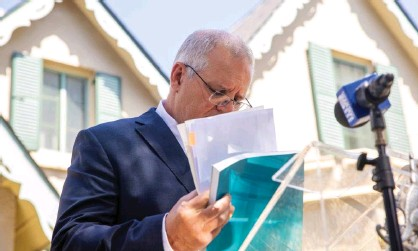 ?? Photograph: Jenny Evans/Getty Images ?? The Morrison government's reported plans to spend $10bn over four years on aged care reforms is about a quarter of what is needed, experts say.
