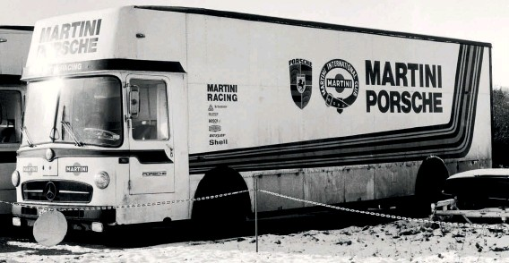 ??  ?? Above: At rest during the offseason, Mercedes LO317 awaits the next trip. Six years after this photo was taken in 1977, the trio of Mercs would be retired…