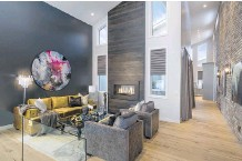 ??  ?? Broadview's top builder title was propelled by wins in three single-family housing categories for entries from communities in Springbank, Chestermere and Airdrie, including the Hugo show home in Harmony.