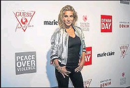 ?? CÉSAR RANGEL ?? Elsa Pataky llegó a Barcelona horas antes del acto desde Australia