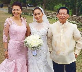With Mom Zsa And Dad Dr Modesto Tatlonghari