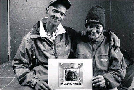 ??  ?? TRAUMA: Aaron Fourie and Juanita Pieters, whose daughter was murdered, photographed by Yazeed Kamaldien. It is one of the works of We Cannot Be Silent.