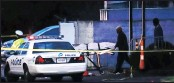 ?? PICTURE: ASSOCIATED PRESS ?? A body is removed as police operate at a crime scene outside the Cameo Nightclub after a reported fatal shooting, yesterday, in Cincinnati.