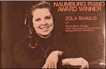 """??  ?? Zola Mae Shaulis Kollock was called """"one of the most interesting pianistic personalities of the day"""" by the legendary pianist Arthur Rubinstein."""