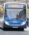 ??  ?? Revised The no 2 service in Ayr