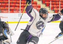 ?? CONTRIBUTED ?? Cape Breton Lynx captain Madison Corbett was named the Maritime Major Under-18 Female Hockey League's defenceman of the year for the Nova Scotia Division. The Sydney product finished second in the league in points (17) for defencemen in 18 games.