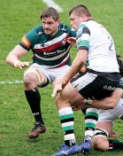 ?? PA ?? CHALLENGE: Callum Green against Newcastle Falcons on Sunday