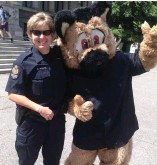 ?? Photo by VPD. ?? Sgt. Cindy Vance used to be assigned to the VPD's school liaison unit.