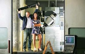 ??  ?? Cristian Bortolossi e Ondina Gon nel 2011 hanno fondato la Shootools.