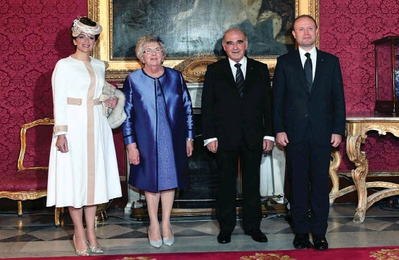 Pressreader Malta Independent 2019 04 08 Nationalist Mep Candidate Defends Michelle Muscat After Pm S Wife Mocked For Outfit