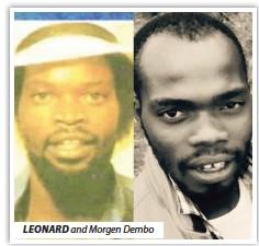 ??  ?? LEONARD and Morgen Dembo