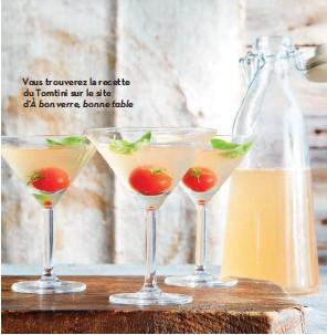 ??  ?? Vous trouverez la recette du Tomtini sur le site d'à bon verre, bonne table