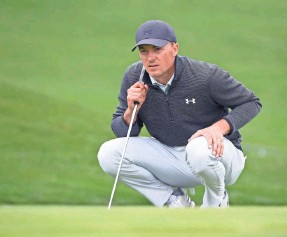 ?? ORLANDO RAMIREZ/USA TODAY SPORTS ?? Jordan Spieth sandwiched a tie for 3rd at Pebble Beach around a T-4 in the Phoenix Open and a T-15 in the Genesis Invitational.