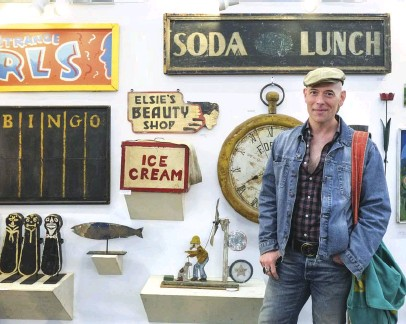 ?? PHOTOGRAPHY BY DAN YUND ?? VINTAGE LIFESTYLE EXPERT Bob Richter is a lifelong collector who grew up surrounded by his family's design business.