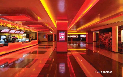 ??  ?? PVR Cinemas