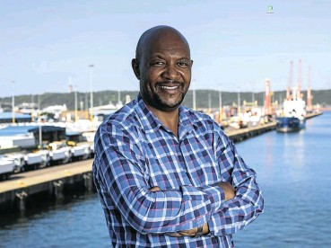 ?? Picture: Rogan Ward ?? Moshe Motlohi, GM of Durban port, says an ambitious new plan to develop the port with private sector involvement will avoid the unnecessary red tape which has scared investors off government projects in the past.