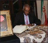 ??  ?? سفير إثيوبيا شارك بواجب العزاء
