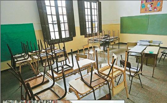 ?? FOTOS CEDOC PERFIL ?? ESCUELAS. En Córdoba 41 escuelas continúan con trabajos edilicios. Las instituciones universitarias comenzarán en abril.