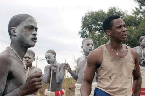 ??  ?? Niza Jay Ncoyini plays Kwanda in The Wound, which has stoked controversy locally. Pictures: Supplied