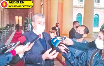 ??  ?? Juan E. Villamayor adelantó ayer que impulsarían una inconstitucionalidad ante la Corte.