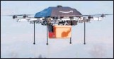 ?? THE NEW YORK TIMES FILE ?? Amazon hopes to one day use drones to make its deliveries.