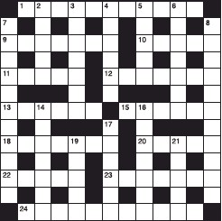 ??  ?? Stuck on today's puzzle? Call 0905 789 4220 to hear individual clues or the full solution. Calls cost 80p per minute plus network extras. Service Provider: Spoke Ltd, helpline 0333 202 3390