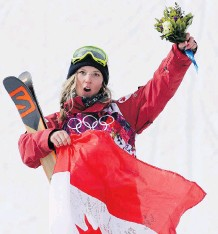 ?? THE ASSOCIATED PRESS/ FILES ?? Freestyle skiing Olympic gold medallist Dara Howell is an ambassador for the EMPWR Foundation, a charitable movement dedicated to the advancement of concussion recovery.