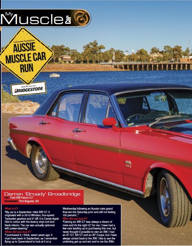 Pressreader Australian Muscle Car 2018 09 01 My Muscle Car