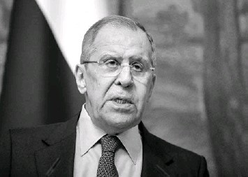 """?? YURI KOCHETKOV/EUROPEAN PRESSPHOTO AGENCY ?? Russian Foreign Minister Sergey Lavrov called sanctions imposed Thursday by President Biden """"absolutely unfriendly and unprovoked."""" Russia retaliated Friday to sanctions by the United States."""