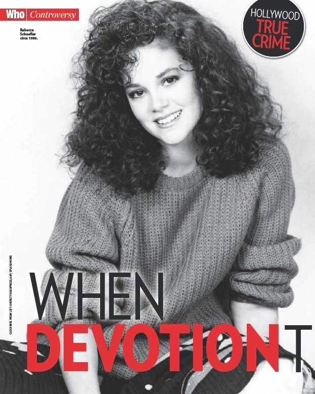 ??  ?? Rebecca Schaeffer circa 1986.