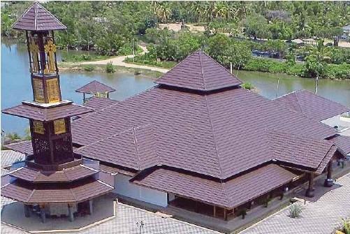 Pantai Sabak Dan Masjid Ar Rahman Pulau Gajah Mdrazali Travelog Musings