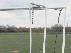 ??  ?? New goalposts have been bent