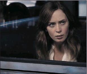 ??  ?? Emily Blunt as Rachel in TheGirlontheTrain (Thursday, Film4, 9p.m.)