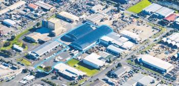 ??  ?? The 14,451 sq m freehold site at 52 Spartan Rd, in the heart of Takanini industrial precinct.