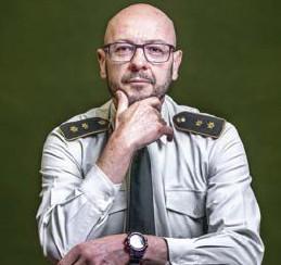 ?? © Hatim Kaghat/le soir ?? Generaal-majoor Philippe Boucké.