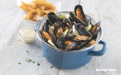 ??  ?? Moules-frites.