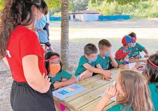 ?? // ABC ?? Un campamento de verano, con menores y monitores protegidos