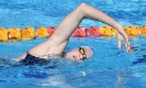 ?? Photograph: Darren England/AAP ?? Australian swimmer Cate Campbell. Athletes will be encouraged to take the Covid-19 vaccine prior to leaving for the Olympics in Tokyo.