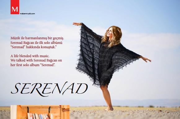 """??  ?? Müzik ile harmanlanmış bir geçmiş. Serenad Bağcan ile ilk solo albümü """"Serenad"""" hakkında konuştuk."""" A life blended with music. We talked with Serenad Bağcan on her first solo album """"Serenad""""."""