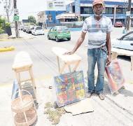 ??  ?? Benji: 'Mi haffi mek things fi help poor people since a dem mainly buy from mi.'