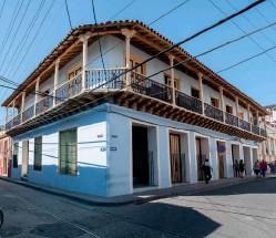 ??  ?? Antigua residencia del compositor Rafael Salcedo, donde radica la Casa de la Trova.