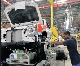 ??  ?? Naamsa figures show that new car sales grew 12 percent year on year last month despite disruption caused by the Japanese earthquake and tsunami. Sales of light commercial vehicles declined.