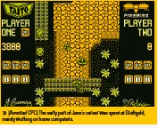 ??  ?? [Amstrad CPC] The early part of Jane's career was spent at Graftgold, mainly working on home computers.
