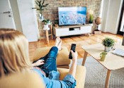 ??  ?? Binge-watching: viewing habits may have changed for the worse